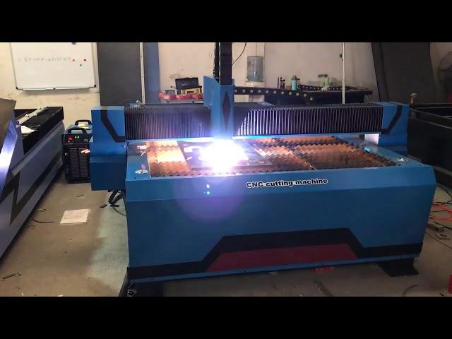 1325 cnc plasma cutting machine ng pagputol ng plasma ng makina