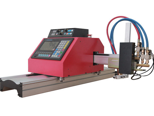 2017 hot sale portable gantry cnc flame plasma cutting machine na may THC para sa bakal
