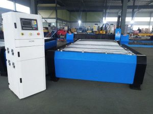 china cnc plasma cutting machine hyper 125a makapal na metal sheet 65a 85a 200a opsyonal jbt-1530