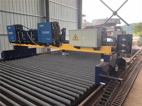 Double Gantry CNC Plasma Cutting Machine para sa Pagputol ng Solid na Steel H Beam Production Line