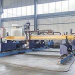 Ang matalinong Gantry uri ng cnc metal plate cutting machine awtomatikong plasma at makinang pamutol ng siga
