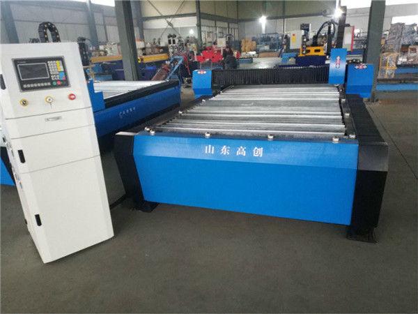 Jinan CE Propesyon 1325 Maliit na CNC Plasma Cutting Machine