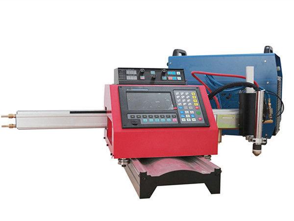 Ang Portable CNC Plasma Cutting Machine At Awtomatikong Pagputol ng Gas na Gamit ang Track ng Bakal