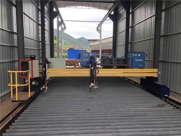 Katumpakan ng CNC Plasma Cutting Machine tumpak na 13000mm Sa Servo Motor