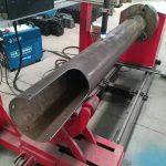 umiikot na baras cnc bilog na tubo mababang gastos cnc plasma cutting machine