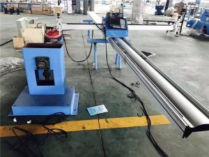 cnc pipe profiling at plate cutting machine 3 axis