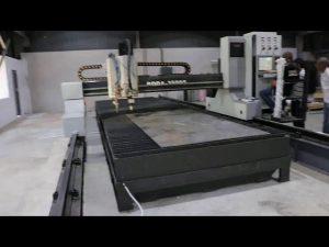 makinarya tunay na butas cnc plasma cuttingmachine china