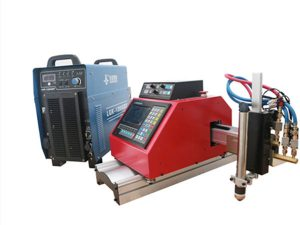 portable cnc plasma, gas, siga, oxgen sheet metal cutting machine na may THC