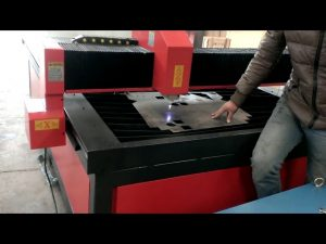 maliit na mababang gastos mataas na katumpakan metal cnc plasma cutting machine