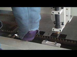 makapal na 22 25cm 200A CNC plasma cutting machine para sa metal